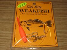 1 WEAKFISH SEA TROUT TIDE RITE R651 BAITHOLDER FLOAT RIG  FISHING MUSTAD HOOKS