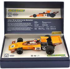 Scalextric Legends Lotus 72 Gunston 1974 Ian Scheckter Slot Car 1/32 C3833A