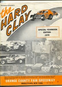 Orange County Fair Speedway Modified Stock Car Race Program-1976-Special Year...