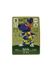 Animal Crossing Amiibo Karte - Sylvia - 369 - Series 4