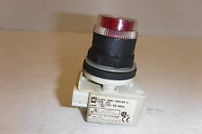 SQUARE D 9001-SK1LR  ILL. 110-120V 50-60HZ LAMP 755 SERIES H PUSH BUTTON SWITCH
