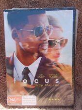 FOCUS WILL SMITH,MARGOT ROBBIE DVD MA R4 SEALED