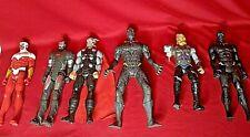 "Hasbro Marvel Lot Of 6 12"" Titan Avengers Black Panther/Ultron/Thor/War Machine"