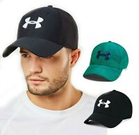 New Under Armour Blitzing 3.0 Mens Baseball Cap Black Green