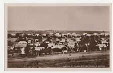 South Africa, Portion of Village with New School in Distance RP Postcard, B124