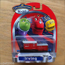 CHUGGINGTON Diecast IRVING train TOMY Learning Curve series red trash garbage