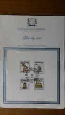 First Day Sheet from Bophuthatswana (war Teilrepublik und Township Südafrikas);