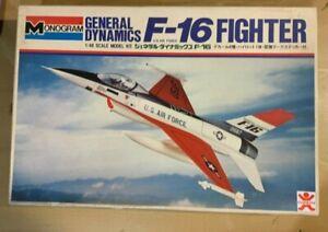1/48 Fighter : General Dynamics F-16A Falcon [USAF] MONOGRAM - Decals Cut