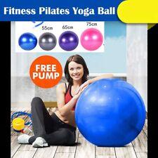 Opti-Ball Gymnastikball Sitzball Yogaball B/üroball B/ürostuhl Fitnessball 65 cm