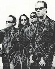 Metallica signed 8X10 photo picture poster autograph RP