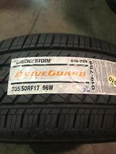 1 New 235 50 17 Bridgestone Drive Guard Run Flat Tire