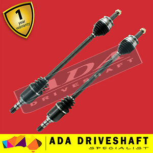 TOP QUALITY NEW CV JOINT DRIVE SHAFT FOR SUBARU FORESTER  07/02-07 ABS PAIR