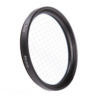 Universal 46mm 4PT 4 Cross Star Effect Lens Filter Four Point Line F DSLR Camera
