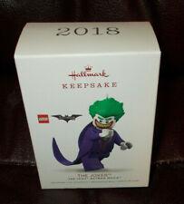 HALLMARK KEEPSAKE ORNAMENT NIB 2018 THE JOKER THE LEGO BATMAN MOVIE