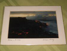 Artist Lilian De Mello Hawaii photographer Signed 5x7 Matted Dawn 8-1-02