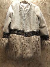 Cherry Paris Faux Fur Beige Ladies Jacket