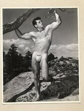 More details for wrestler and bodybuilder, bill melby, b&w 8x10 wpg photo.