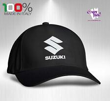 Cappello Berretto Hat Cappellino Houston 5 pannelli NERO - SUZUKI