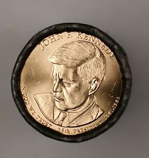 2015-D USA Mint Sealed Roll of 25 John F Kennedy Presidential $1 Dollar Coins