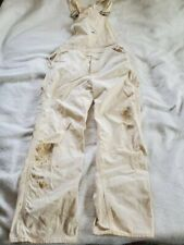 Vintage 1960's-70's Distressed Lee Bib Overalls, Union Made in Usa