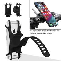 Bicycle Bike Mobile Phone Holder Bracket Mount for Handlebar Handle Bar Scooters