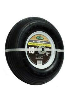 Farm and Ranch Wheelbarrow Tire 13 in. Pneumatic Heavy-Duty Ball Bearings 2-Pack