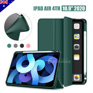 For Apple iPad Air 4th Gen 10.9 Case Shockproof Smart Cover With Pencil Holder
