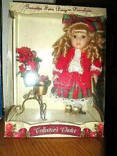 Collector's Choice Porcelain Holiday Doll *NIB *COA