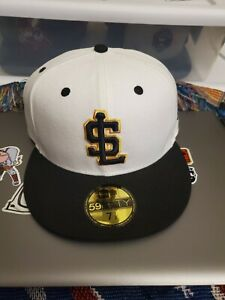 MiLB Salt Lake City Bees Fitted Cap Hat New Era NWT Size 7 1/2 NWT