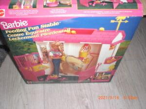 Barbie Leckermaul Pferdestall