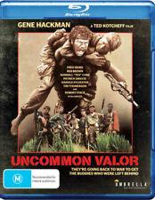 Uncommon Valor BLu Ray - Gene Hackman - Patrick Swayze - New & Sealed