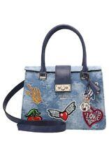 GUESS Elia Crossbody Bag - Blue Denim- Medium Size - Brand New with Tag