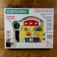 Rare Vintage IQ Builders Teaching Toy Shop educational toy Brand New Boxed