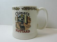 Lord Nelson Pottery Colman's Mustard Coffee Mug