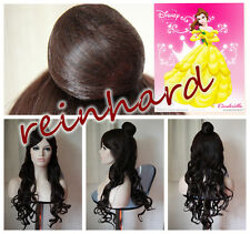 Beauty and The Beast- Princess Belle Disney Animation Cosplay Full Wig