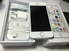 NEW ORIGINAL APPLE iPHONE 5S 32GB  FACTORY UNLOCKED MOBILE SMARTPHONE white