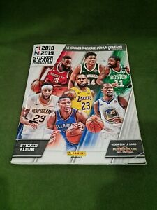 Panini Album Basketball Stiker & Card Collection 2018/2019 NBA Set