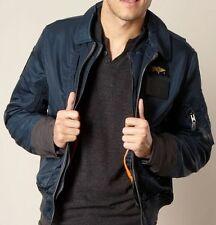 Nylon Zip Collared Coats & Jackets for Men SCHOTT