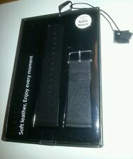 UK APPLE WATCH STRAP BY BASEUS BLACK 42mm LEATHER + TOOL CHIP 70 FREEPOST