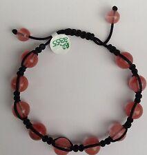 Shamballa / Chamballa Bracelet With Rosé Quartz