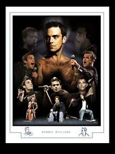 More details for robbie williams  montage print