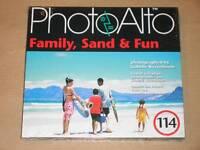 CD-ROM PHOTOALTO 114 / FAMILLES A LA PLAGE /  IMAGES PROS LIBRE DE DROITS / NEUF