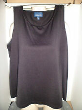 Women's Clothing - Dressy Summer Sleeveless Top Shirt - Size 3XL - Plus Size