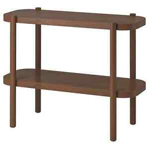 """LISTERBY Console table, brown 36 1/4x15x28 """""""