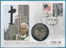 USA Medaille (Numisbrief) aus 2008 Papst Benedikt!
