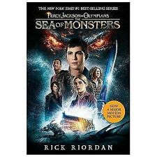 The Sea of Monsters (Percy Jackson & the Olympians)-ExLibrary Paperback