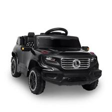 6V 7Ah Lz-910 Electric Ride on Toy Car with Music & Remote Control Black