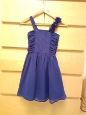 Girls Skater Dress New  Kids Sleeveless Party Fit & Flare Dresses Ages 5-13 Year