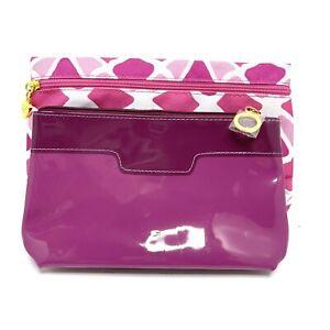 Estée Lauder Makeup Bags Lot Of 2 Pink And Purple New