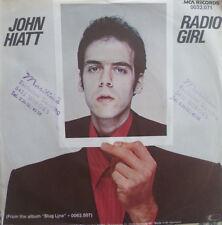 """7"""" 1979 REAL KULT IN MINT- ! JOHN HIATT : Radio Girl"""